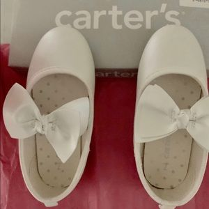 Carter's Ivory Mary Jane Party Shoe